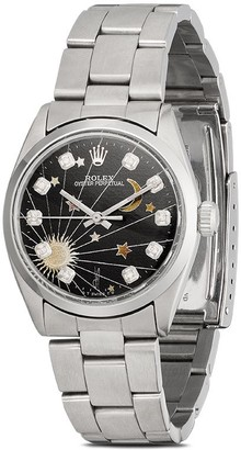 Jacquie Aiche customised Rolex Oyster Perpetual 42mm