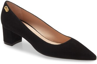 Stuart Weitzman Lynley Pointed Toe Pump