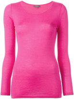 N.Peal superfine round neck jumper - women - Cashmere - XS