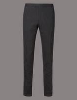 Autograph Flat Front Tailored Fit Chinos