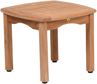 International Home Miami Amazonia Teak Side Table
