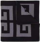 Givenchy 4G logo knitted scarf