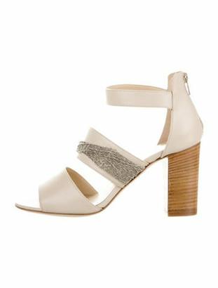 Fabiana Filippi Selene Leather Sandals