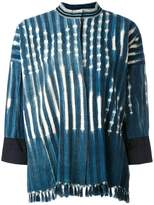 Forte Forte striped fringed jacket