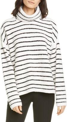 ATM Anthony Thomas Melillo Stripe Chenille Sweater