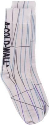 A-Cold-Wall* Line Pattern Socks