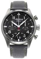 Alpina Startimer Pilot Stainless Steel Watch