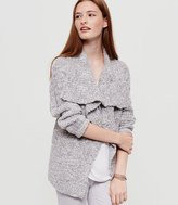 Lou & Grey Foldover Open Cardigan