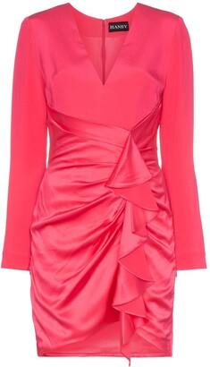 HANEY Lilly ruffled mini-dress