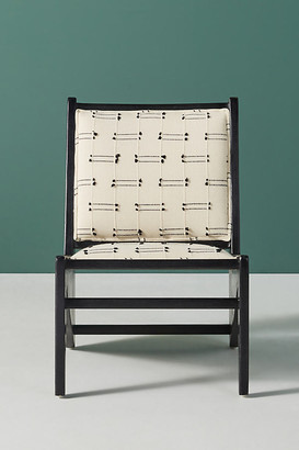 Anthropologie Rani Accent Chair By in White Size ALL