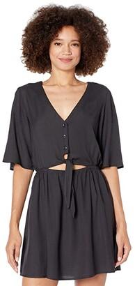 Volcom Ven Om Dress (Black) Women's Dress