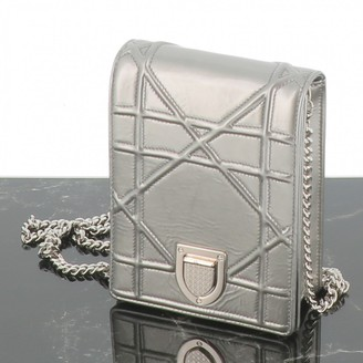 Christian Dior Diorama Silver Patent leather Clutch bags