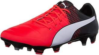 Puma Men's Evopower 1.3 Tricks FG Soccer Shoe Red Blast White