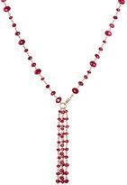 Sidney Garber Women's Ruby Beaded Necklace