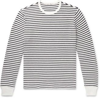 Alex Mill Striped Cotton-Terry T-Shirt