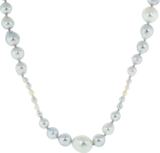 Baggins Akoya and South Sea Pearl Necklace