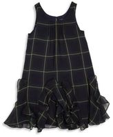 Ralph Lauren Toddler's & Little Girl's Plaid Ruffle Dress