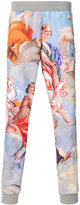Moschino baroque print sweatpants