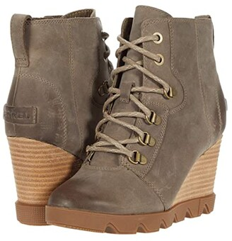 Sorel Joan Uptowntm Lace (Quarry) Women's Boots