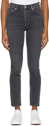 Citizens of Humanity Grey Slim Olivia Jeans