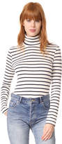 Petit Bateau 1x1 Iconic Striped Turtleneck