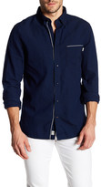 Timberland Best Chambray Long Sleeve Slim Fit Shirt