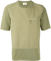 Folk zipped pocket T-shirt