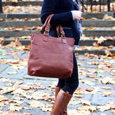 The Leather Store Classic Leather Tote Handbag