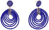 BaubleBar 30495 Clover Drops-Cobalt Blue