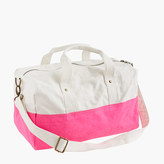J.Crew Canvas overnight bag