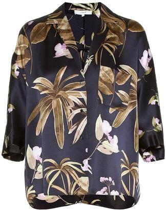 Vince Printed silk shirt