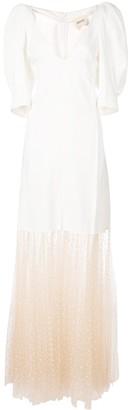 KHAITE tulle under layer dress