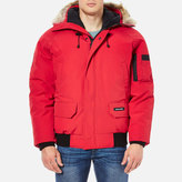 Canada Goose Chilliwack Down Filled Bomber Jacket Red