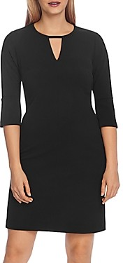 Vince Camuto Flare Sleeve Crepe Dress - 100% Exclusive