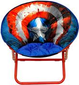 Idea Nuova Captain America Shield Adult Saucer Chair