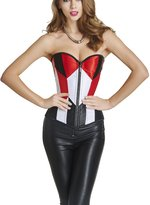 Ya Lida Body Control Corset Waist Training Overbust Bustier Top Joker cosplay