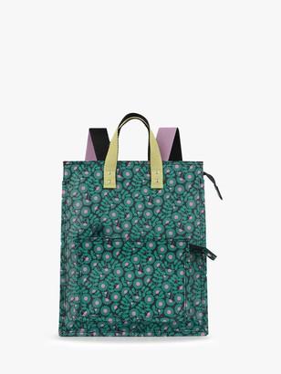 Orla Kiely Liston Backpack, Emerald
