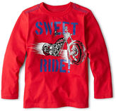JCPenney Okie Dokie Long-Sleeve Transportation Graphic Layered Tee - Boys 2y-6y