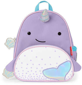 Skip Hop Zoo Activity Narwhal Animal Backpack