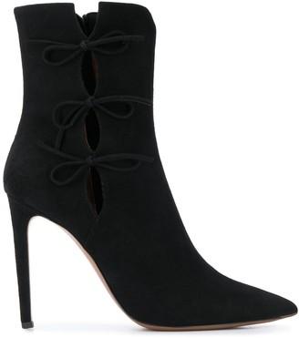 L'Autre Chose stiletto ankle boots