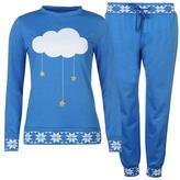 Miso Rib Cuff Pyjama Set Ladies