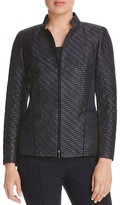 Lafayette 148 New York Adley Metallic Wave Jacket
