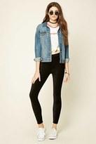 Forever 21 Skinny Corduroy Pants