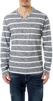 Point Zero Men's Striped Long Sleeve Shirt