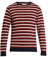 Oliver Spencer Benue Striped-wool Sweater