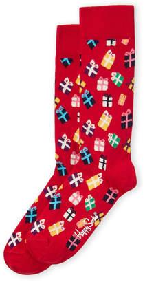 Happy Socks Gift Box Mid Calf Length Socks