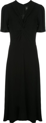 Nicole Miller V-neck dress