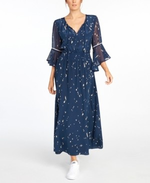 The Cause Collection Doheny Silk Maxi Dress