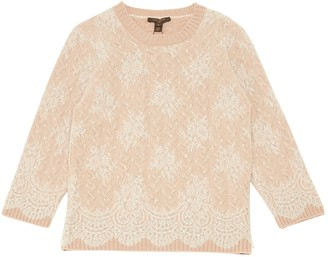 Louis Vuitton Beige Wool Knitwear