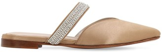 Zyne 10mm Exclusive Embellished Satin Mules